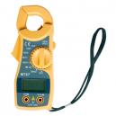 Pinza amperimétrica modelo mini AC/DC 750V amperaje de 0-600 A y resistencia 20 K | Pantalla LCD