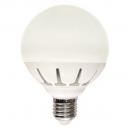 Globo LED E-27 12W 1000 Lm 220º - Luz cálida 3000K