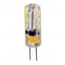 Lámpara Bipin LED G4 12V 3,5W 24 LEDs SMD 100 Lm 360º - Luz cálida 3000K