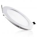 Downlight LED Extraplano circular 12W - 840 Lm 120º en blanco - Luz día 4200K