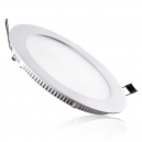 Downlight LED Extraplano circular 18W - 1.260 Lm 120º en blanco - Luz día 4200K