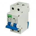 Interruptor magnetotérmico de 2 Polos x 16 A curva C  240-415 V