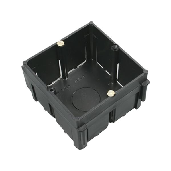 Caja de mecanismo universal enlazable de empotrar 67x67x41 mm - Mecanismo para reloj de pared ...
