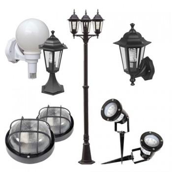 Iluminaci n de exterior for Lamparas para iluminacion exterior