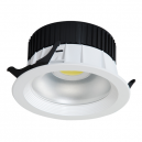 Downlight LED de 20W - 1.600 Lm 100º en blanco - Luz día 4200K
