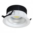 Downlight LED de 20W - 1.600 Lm 100º en blanco - Luz día 4200K