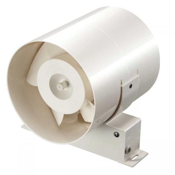 Extractor para conducto de 100 mm potencia de 15w 80 m3 for Extractor bano 80 mm