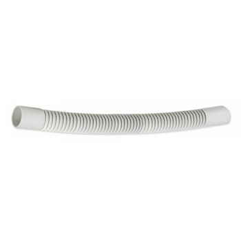 Curva flexible de 20 mm para tubo r gido gris de pvc for Tubo de pvc flexible