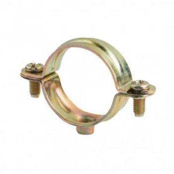 Abrazadera met lica para tubo de acero galvanizado de 50 mm - Abrazaderas para tubos ...