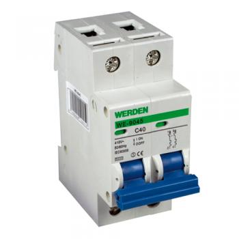 Interruptor magnetot rmico de 2 polos x 40 a curva c 240 415 v - Interruptor magnetotermico precio ...