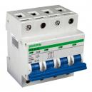 Interruptor magnetotérmico de 4 Polos x 25 A curva C  240-415 V