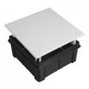 Caja de empotrar de 100x100 mm con garra de clic