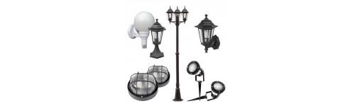 Lámparas, apliques y farolas de exterior