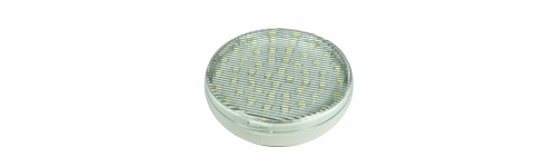Lamp. LED tipo pastilla GX53 y lineal R7s